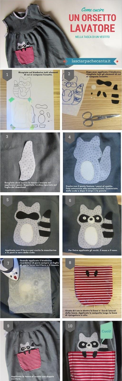 tutorial racoon pocket
