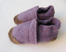 Come cucire delle pantofole in lana cotta